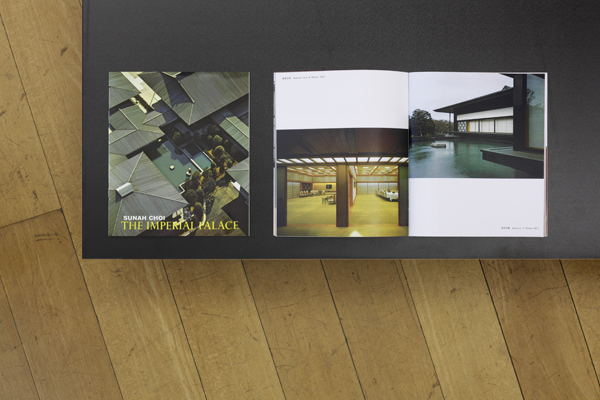 "left: Publication ""Sunah Choi. The Imperial Palace"" / right: Brochure ""The Imperial Palace"""